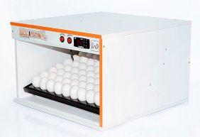 Chocadeira Eclopinto - 64 Ovos + Ovoscópio Giratório + Viragem Automática (Angular)