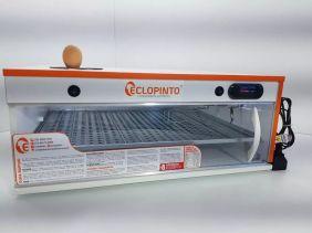 Chocadeira Eclopinto - 104 Ovos + Ovoscópio Giratório + Viragem Automática