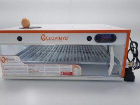 Chocadeira Eclopinto - 112 a 121 Ovos + Ovoscópio Giratório + Viragem Automática