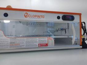 Chocadeira Eclopinto - 150 Ovos + Ovoscópio Giratório + Viragem Automática