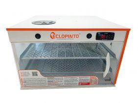 Chocadeira Eclopinto - 180 Ovos + Ovoscópio Giratório + Ar Forçado + Viragem Automática