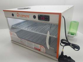 Chocadeira Eclopinto - 200 Ovos + Ovoscópio Giratório + Ar Forçado + Água e Viragem Automática