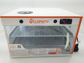 Chocadeira Eclopinto - 200 Ovos + Ovoscópio Giratório + Ar Forçado + Viragem Automática