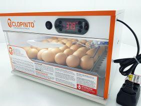 Chocadeira Eclopinto - 25 Ovos + Viragem Automática