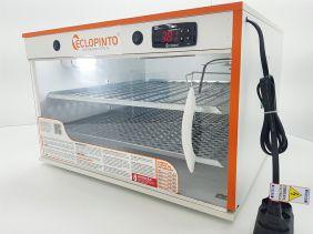 Chocadeira Eclopinto - 340 a 360 Ovos + Ovoscópio Giratório + Ar Forçado + Viragem Automática + Resistência Extra