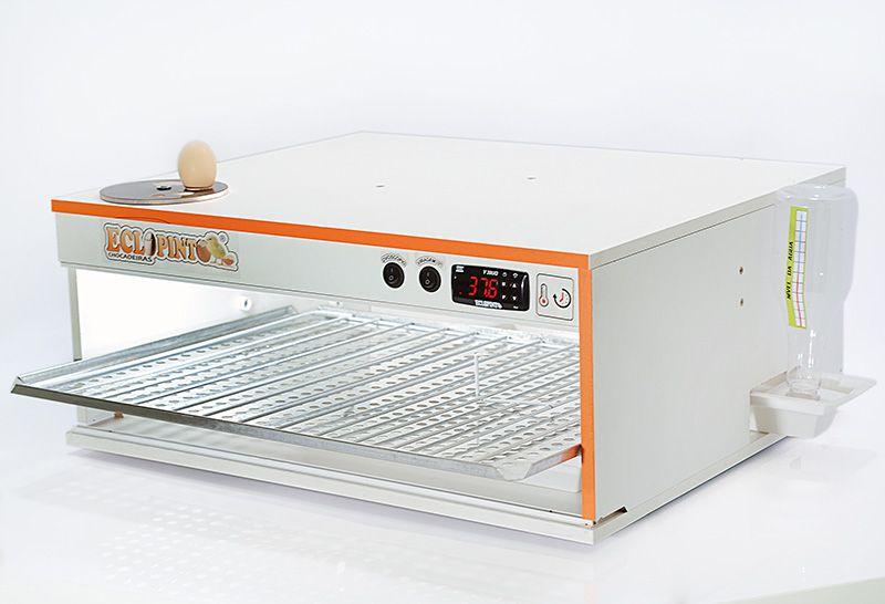 Chocadeira Eclopinto - 100 Ovos + Ovoscópio Giratório + Água e Viragem Automática