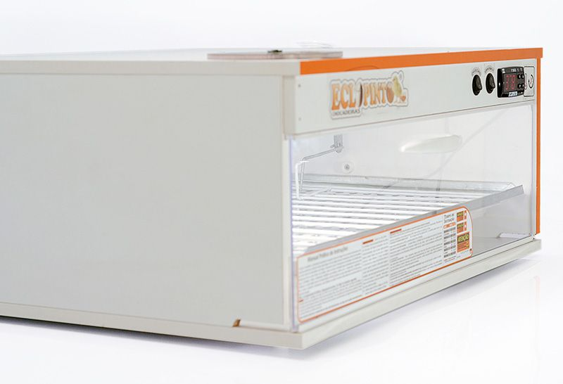 Chocadeira 115 A 120 Ovos Com + Ovoscópio+ Kit Automático