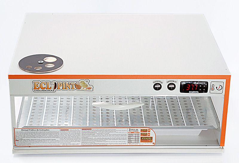 Chocadeira 130 Ovos + Ovoscópio, Ar Forçado, Automática...