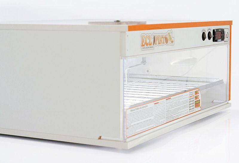 Chocadeira 150 Ovos + Ovoscópio, Controle Digital Ar Forçado