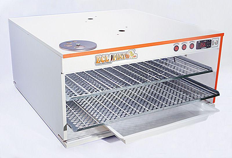 Chocadeira Eclopinto - 180 Ovos + Ovoscópio Giratório + Ar Forçado + Água e Viragem Automática