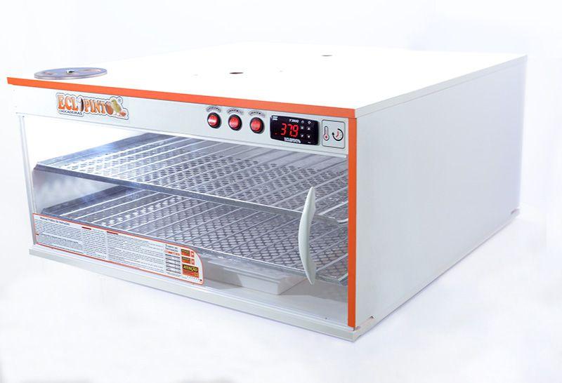 Chocadeira Eclopinto - 300 a 360 Ovos + Ovoscópio Giratório + Ar Forçado + Viragem Automática + Resistência Extra