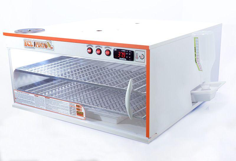 Chocadeira 350 A 360 Ovos + Ovoscópio+kit Automático De Água