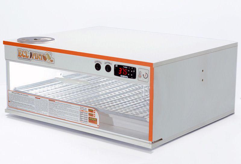 Chocadeira 72 Ovos + Ovoscópio Giratório, Ar Forçado, Automática
