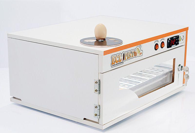 Chocadeira Eclopinto - 80 Ovos + Ovoscópio Giratório + Viragem Automática + Porta Com Fechadura