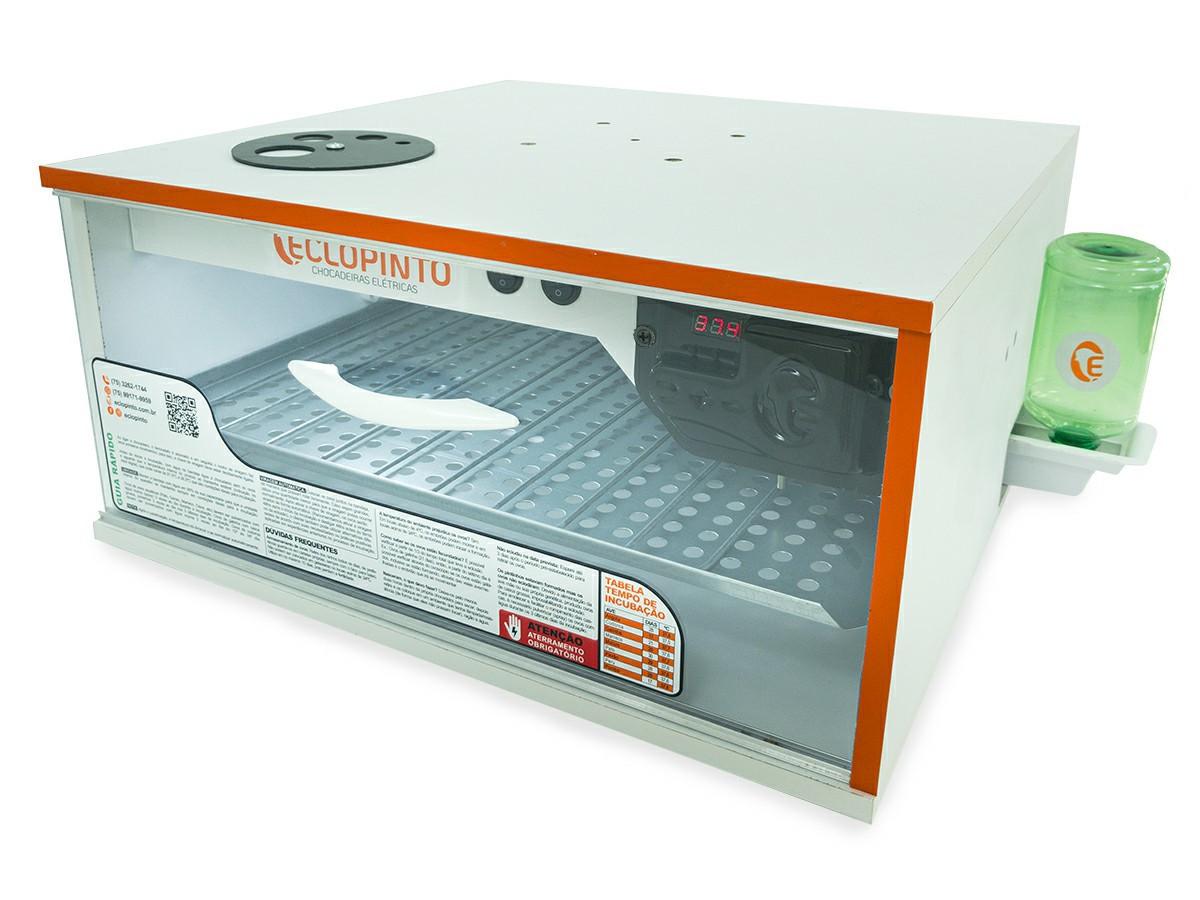 Chocadeira Automática - 120 Ovos + Ovoscópio e Água Automática