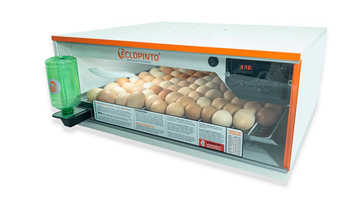 Chocadeira Automática - 25 Ovos + Água Automática