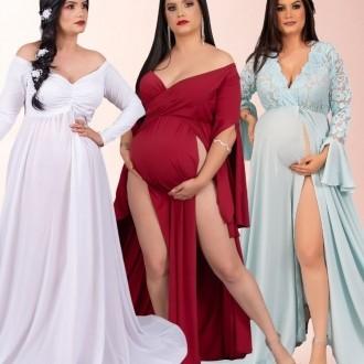 COMBO 16 = Vestido 2 aberturas com short + Vestido Rodrigo Couto com short + Queridinho com saia sereia