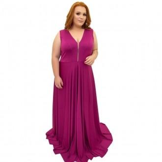 Vestido Plus Size Liso