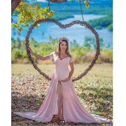 Vestido Gestante + Body  Priscila Fontinele