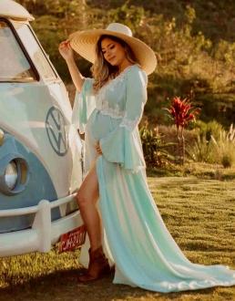 Vestido Robe Caudona + Short