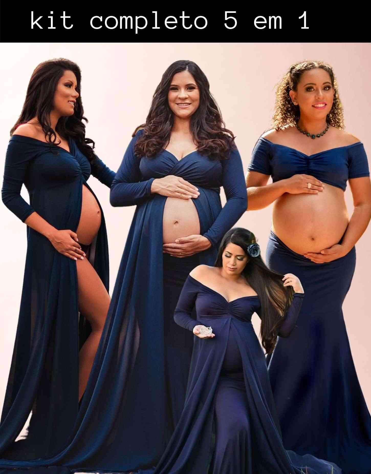 Combo Queridinho 5 em 1 ; Vestido Caudona + Saia Sereia + Short + Top