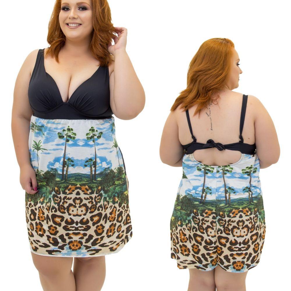 Maio Vestido Plus Size