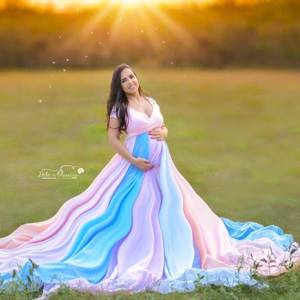 Vestido Arco Irís