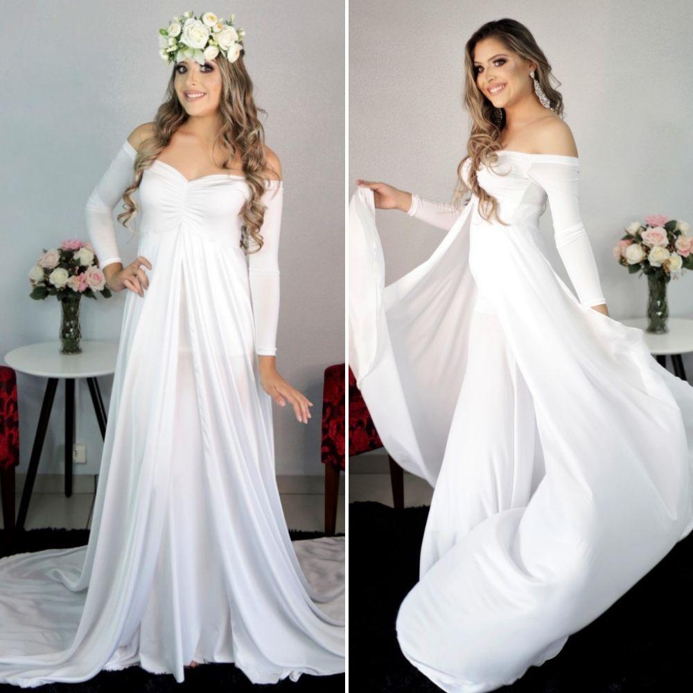 Vestido Caudona + Saia Sereia , fotografia de casamento