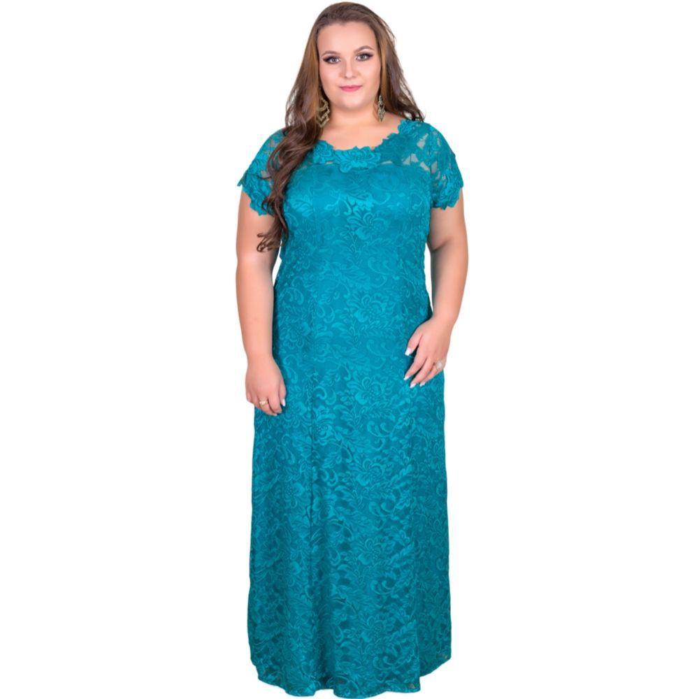 Vestido Renda Plus Size