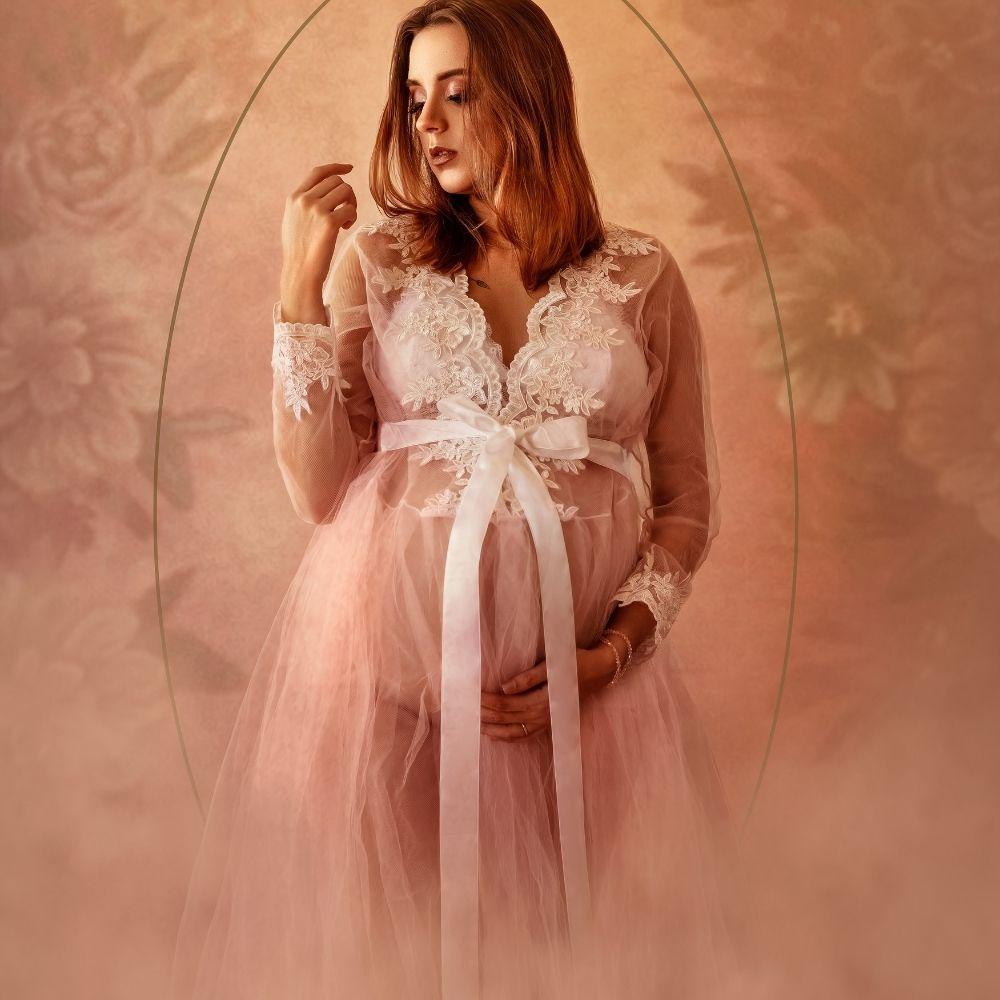 Vestido Robe de Tule +  Short
