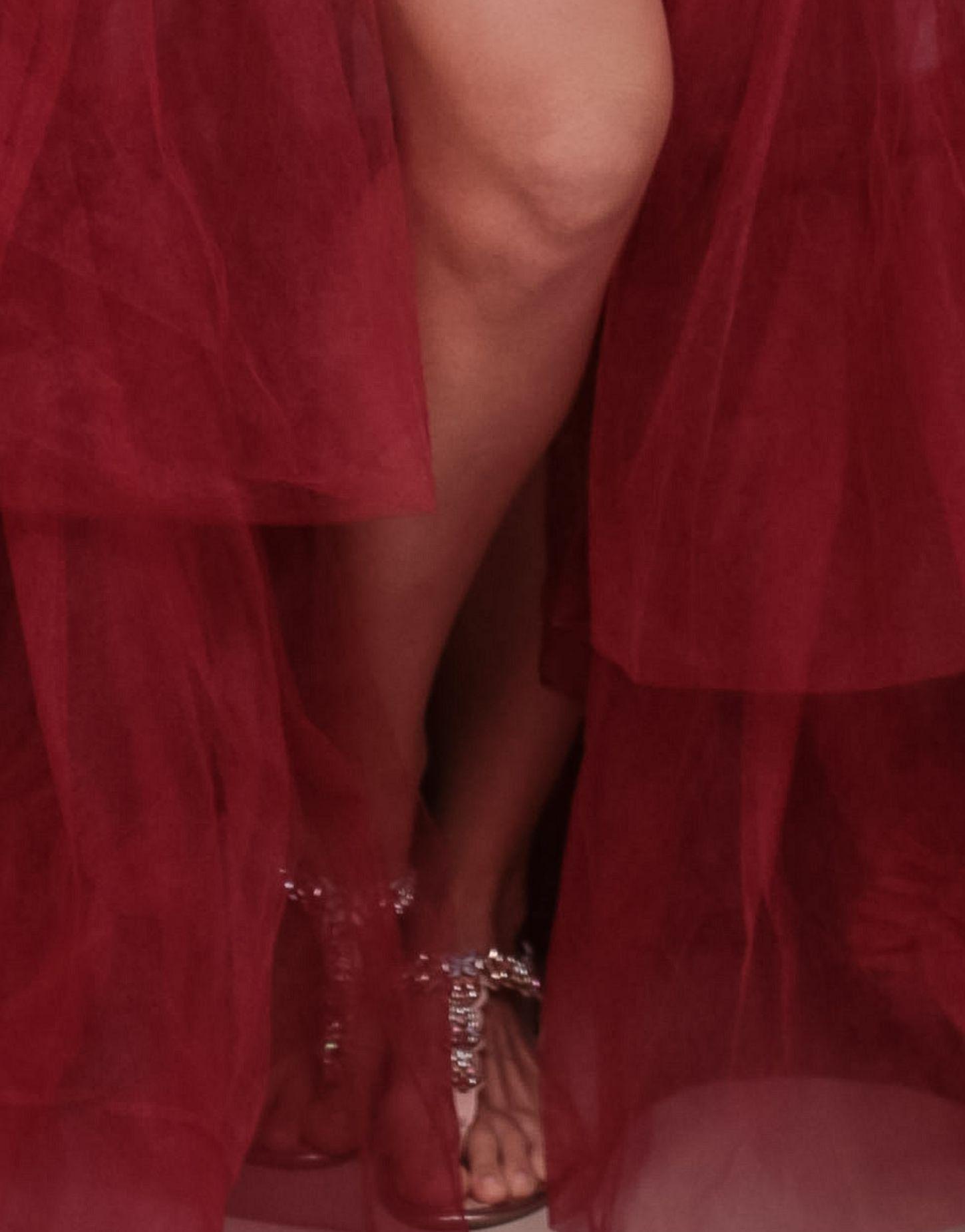 Vestido Robe Glamour; com Sutian de Bojo + Tubinho