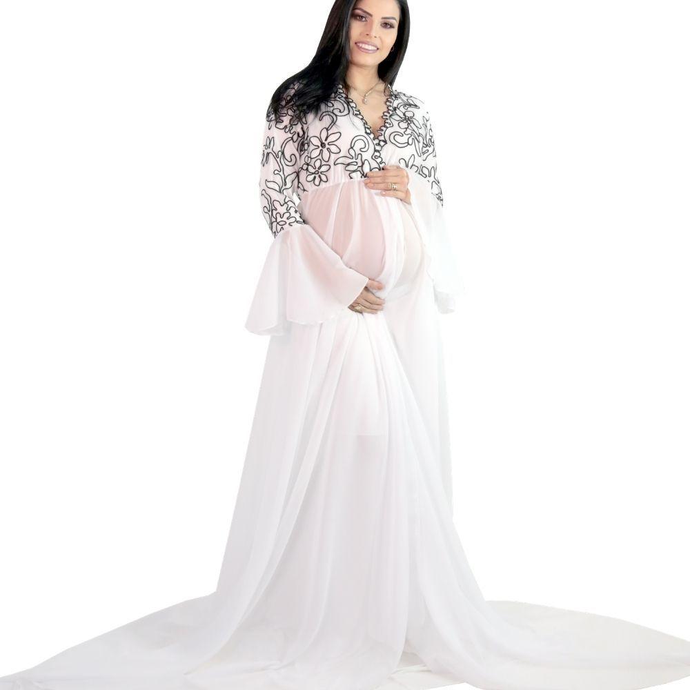 Vestido Robe Luxo Rodrigo Couto + Saia Sereia