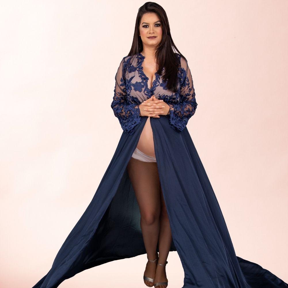 Vestido Robe Rodrigo Couto Luxo + Short