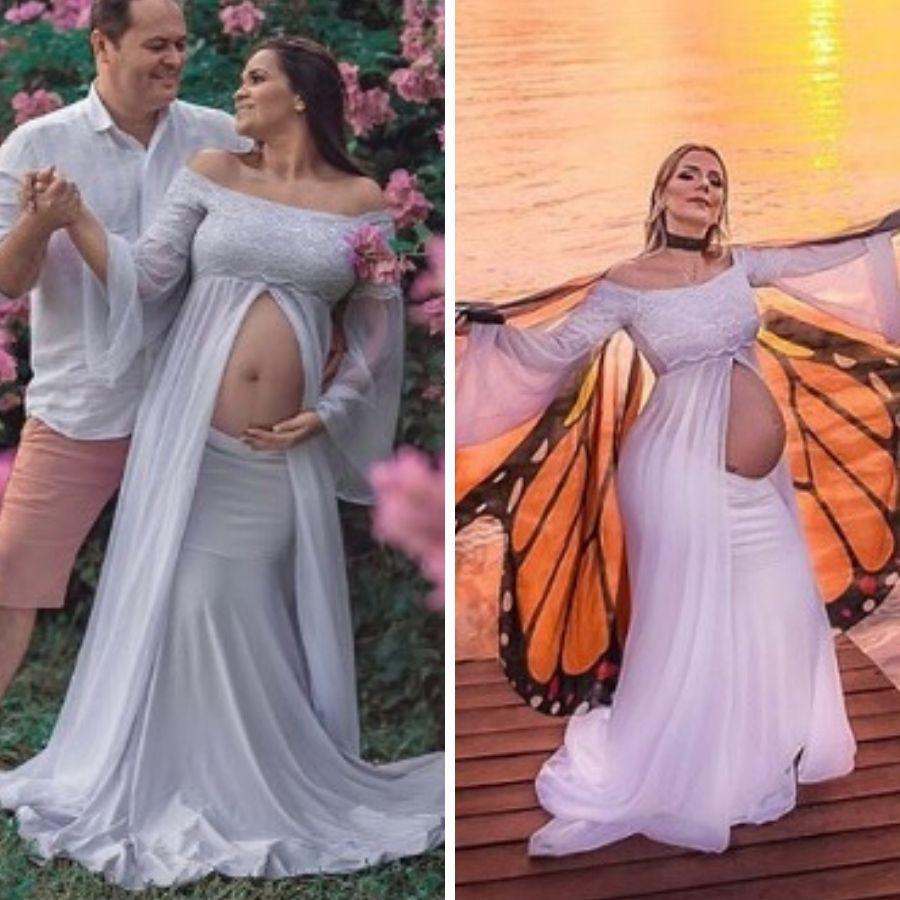 Vestido + Saia Sereia