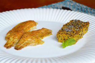 Filé Mediterrâneo com Quibe de Quinoa