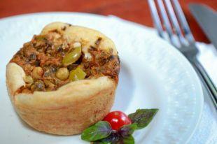 Tortinha de Legumes