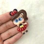 Aplique Biscuit Minnie Vermelho