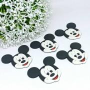 Aplique Emborrachado Mickey