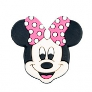Aplique Emborrachado Minnie Pink