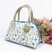 Bolsa Coleção Ester Floral Azul