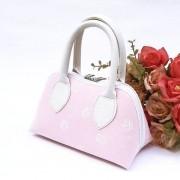 Bolsa Coleção Ester Rosa Coroa Branca