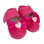 Coleção Rouxinol Sapatilha Pink Laço