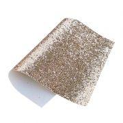 Lonita Flocada Glitter Dourado