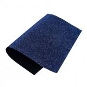 Lonita Glitter Azul Marinho Com Renda