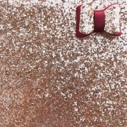 Lonita Glitter Flocada Rosê