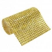 Manta Silicone Dourada