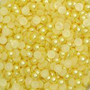 Meia Pérola 5mm Amarelo Bebê