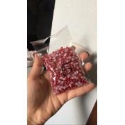 Meia Pérola 5mm Vermelha