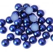 Meia Pérola 6mm Azul Bic