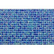 Micro Manta de Strass Azul Furta Cor